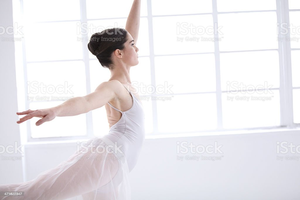 Dancing to perfection royalty-free stock photo