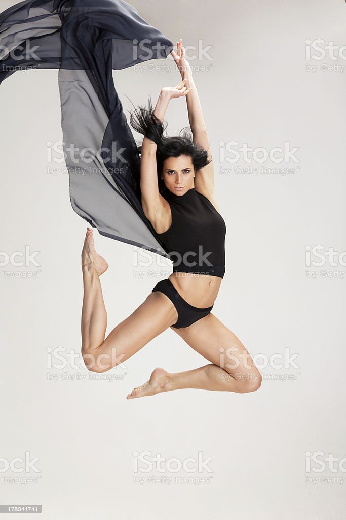 Dancing with black stock photo