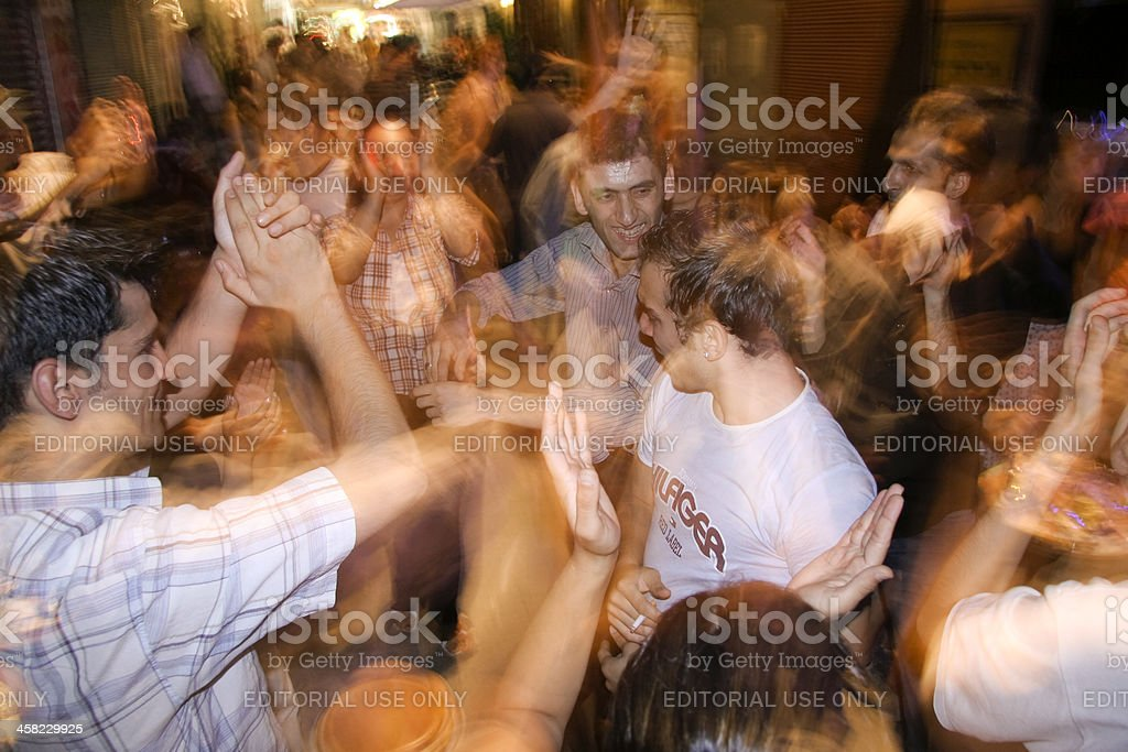 dancing youth royalty-free stock photo