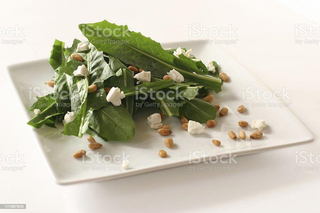 Dandelion Salad royalty-free stock photo
