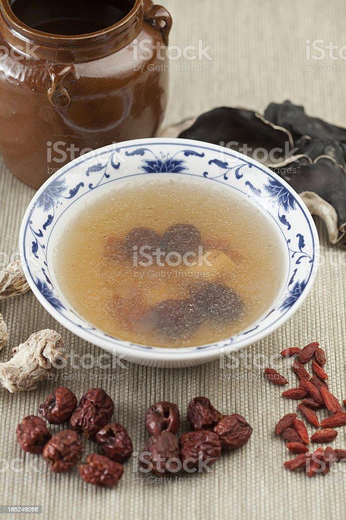 Dang Gui soup royalty-free stock photo