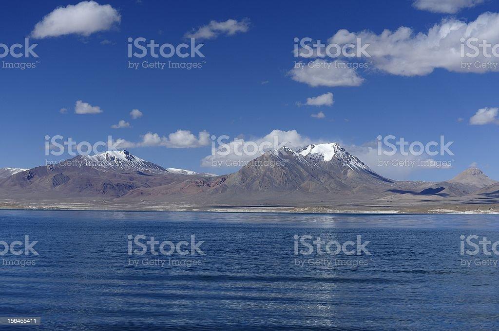 Dang Qiong Lake royalty-free stock photo