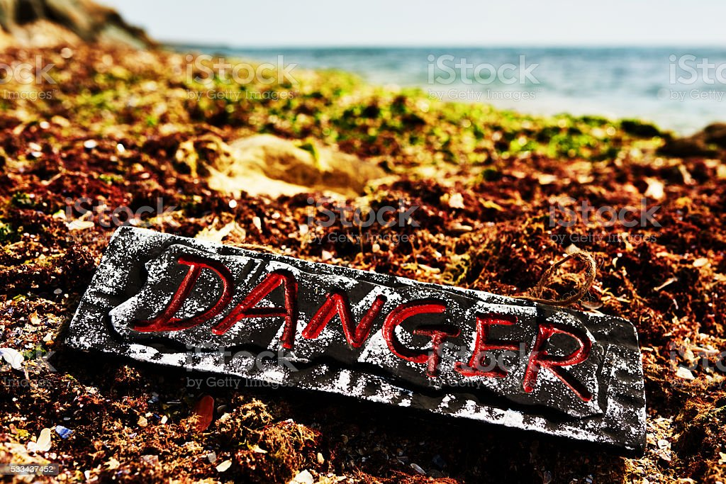 danger and pollution of environment stock photo
