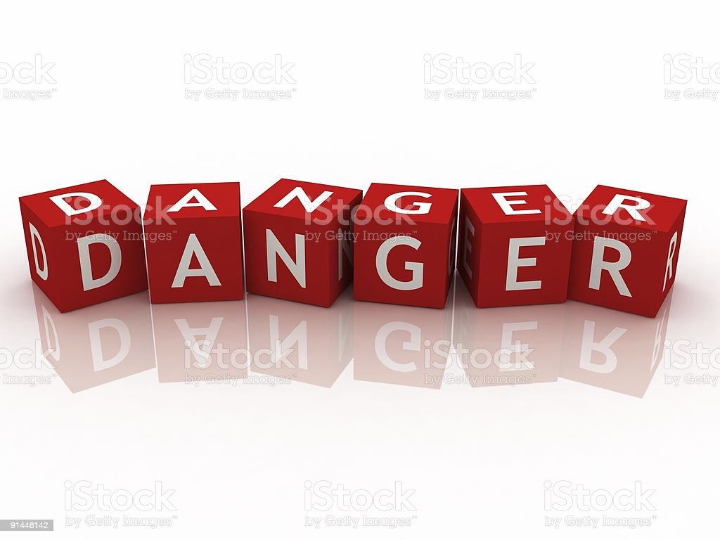 Danger concept royalty-free stock photo