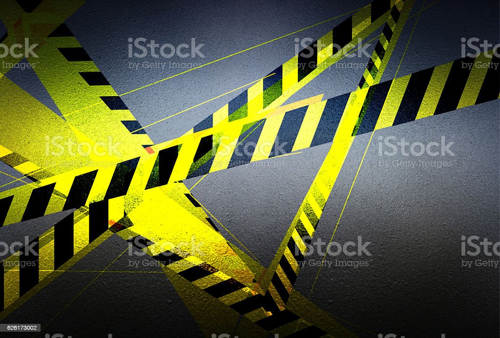 Danger dark blue background stock photo