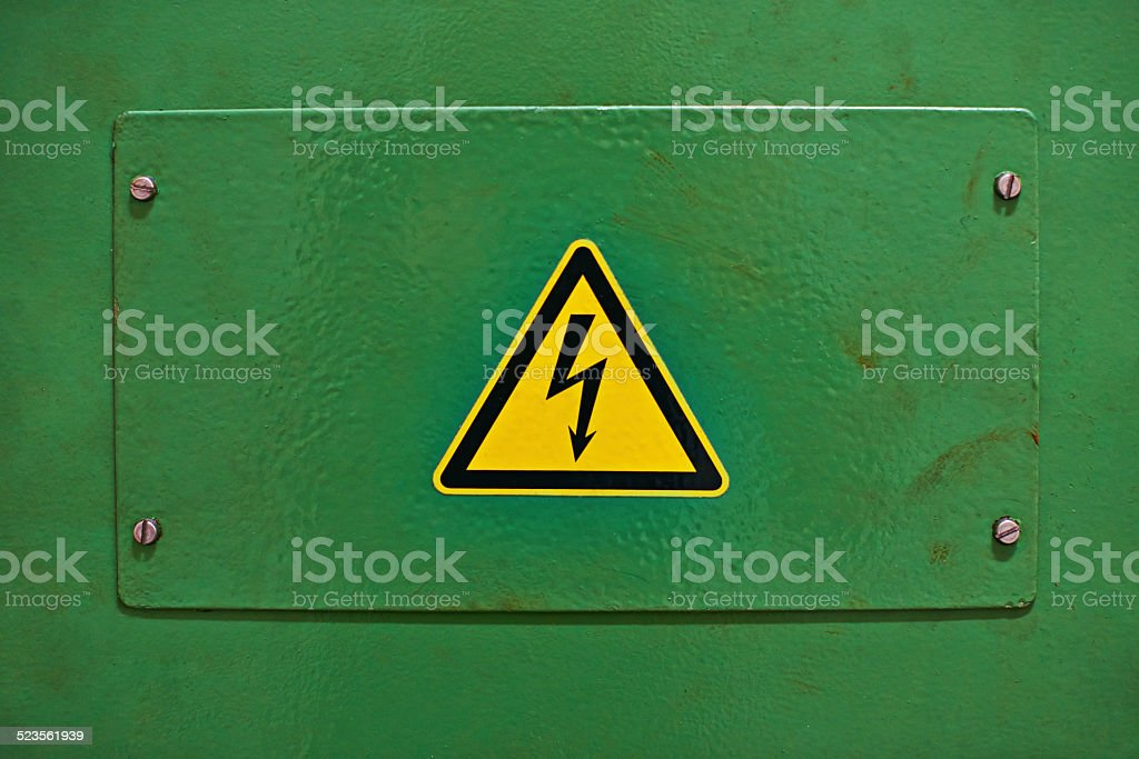 Danger - Electricity stock photo