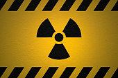 Danger Ionizing Radiation Sign