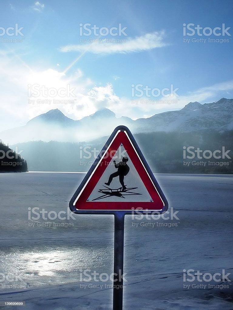 Danger stock photo