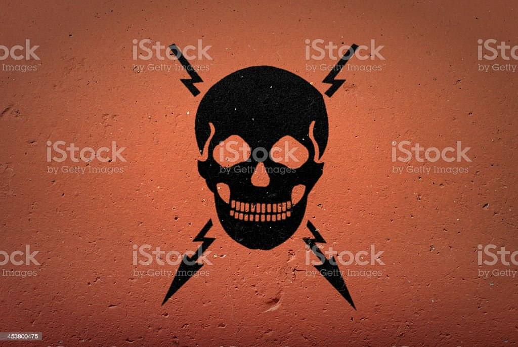 Danger! stock photo