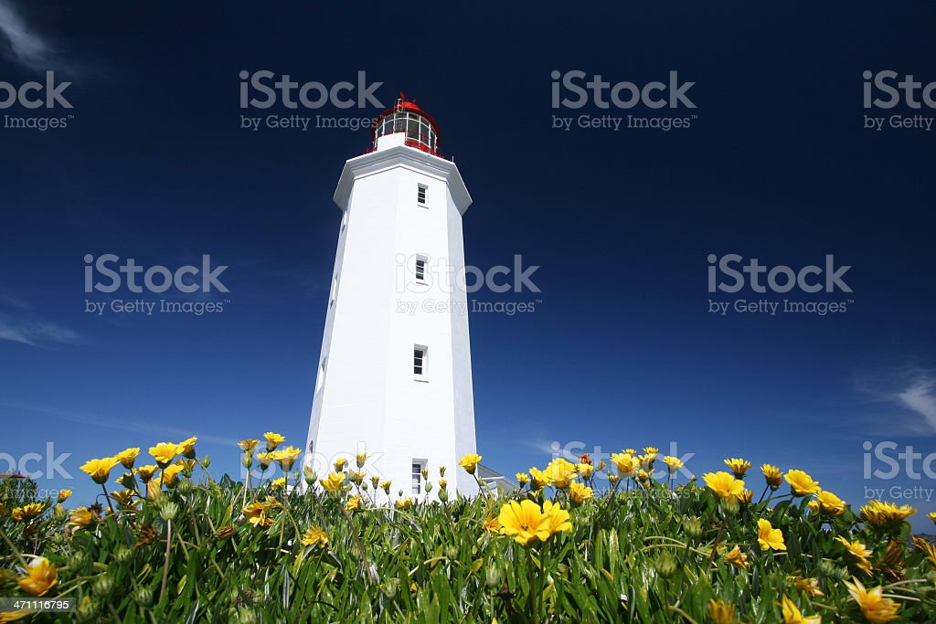 Danger Point Lighthouse stock photo
