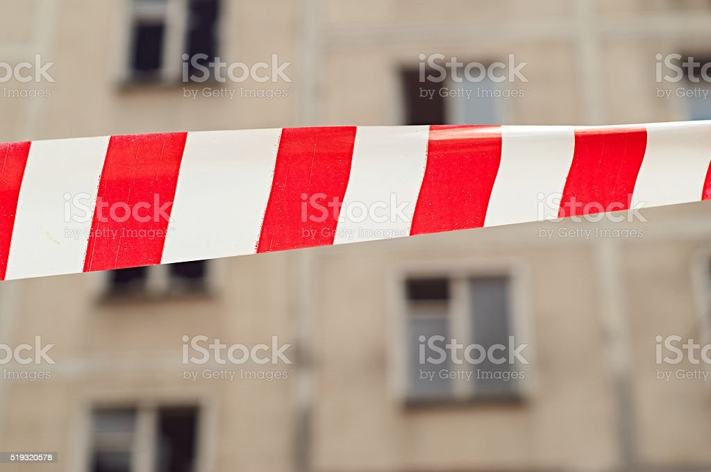Danger Tape stock photo