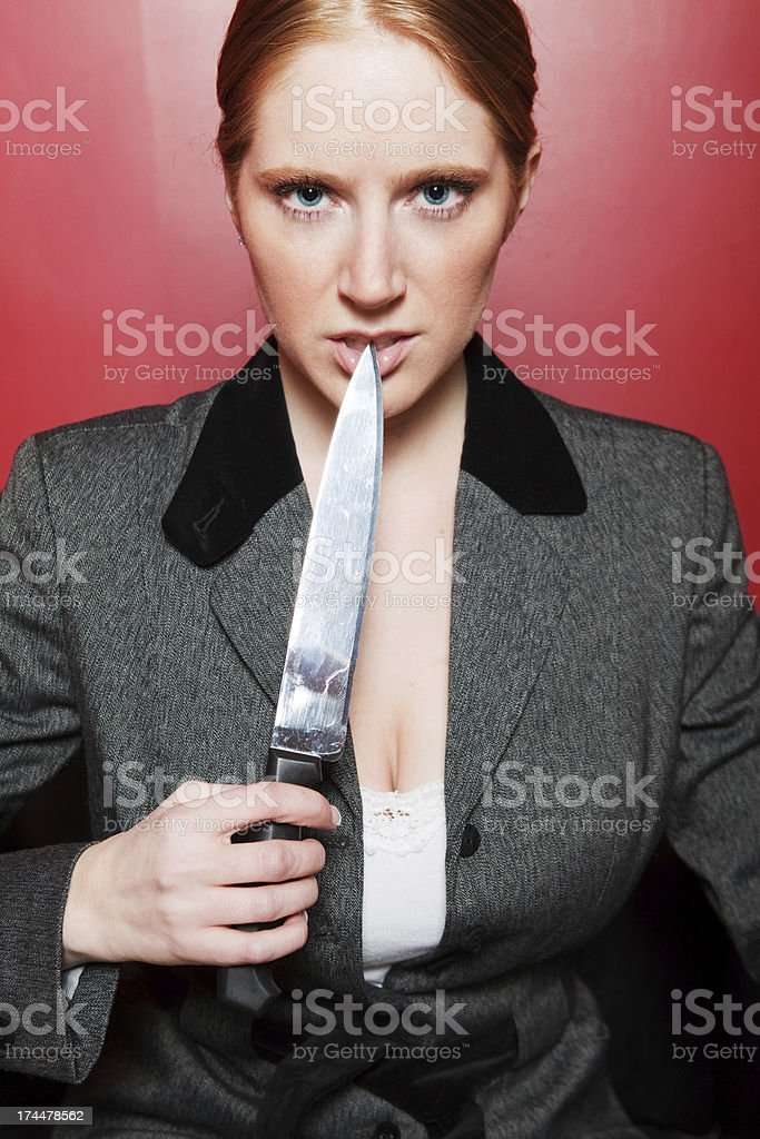 Dangerous Business royalty-free stock photo