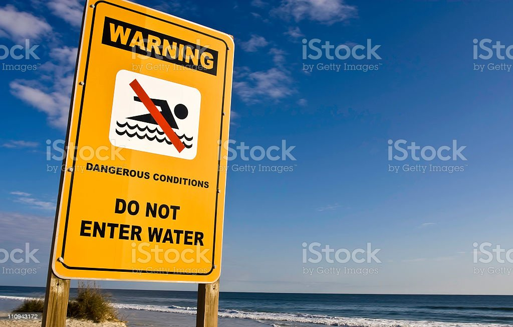Dangerous Conditions stock photo