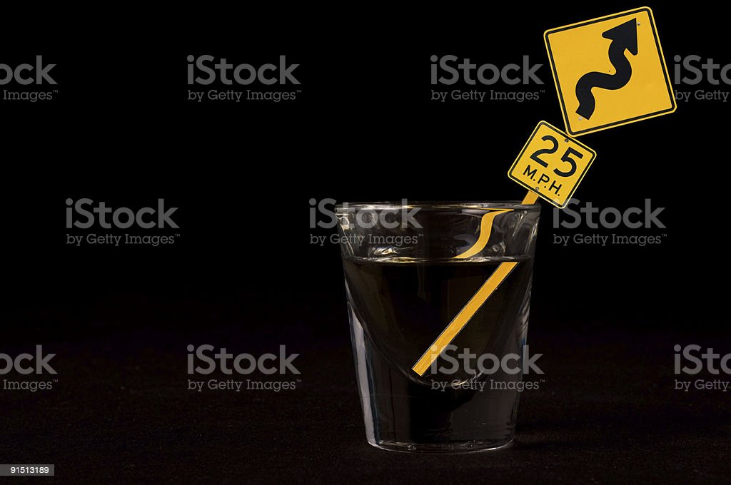Dangerous Curves royalty-free stock photo
