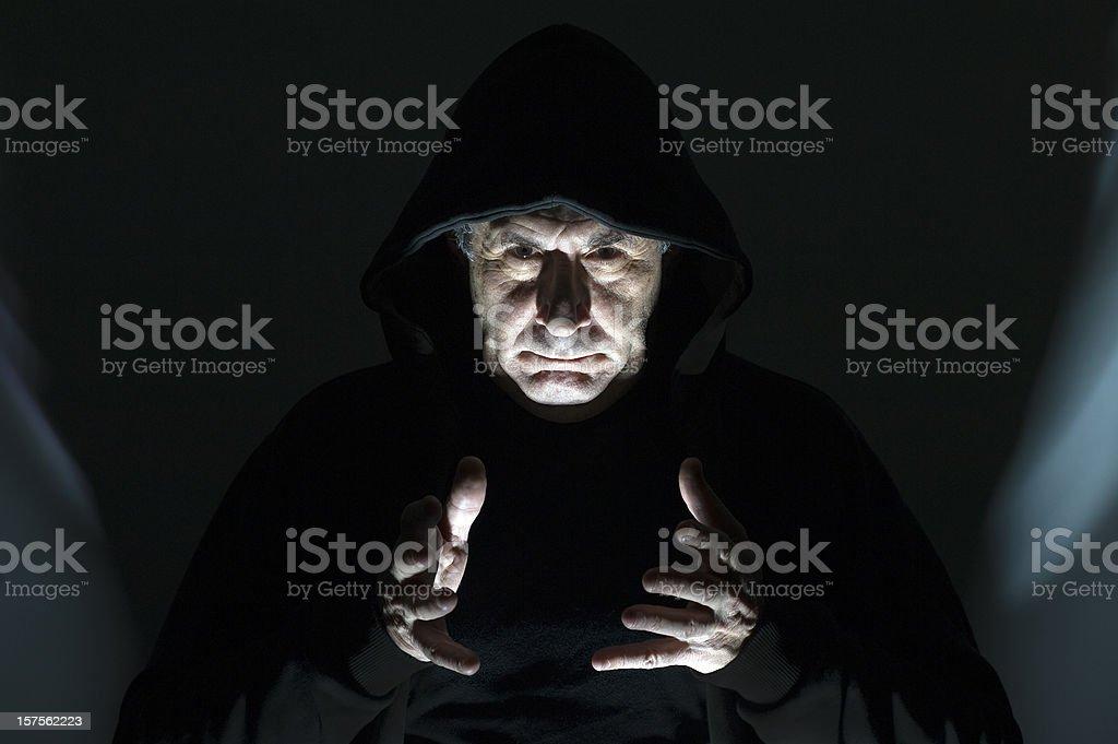 Dangerous demon stock photo