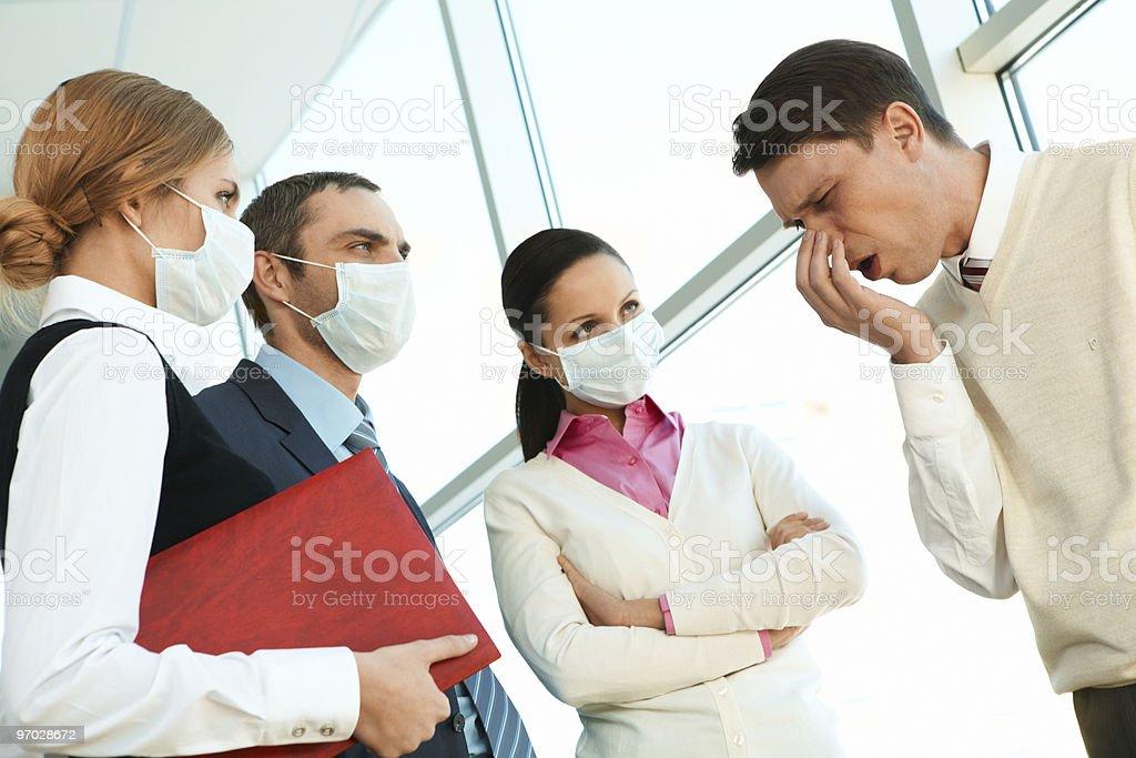 Dangerous disease stock photo
