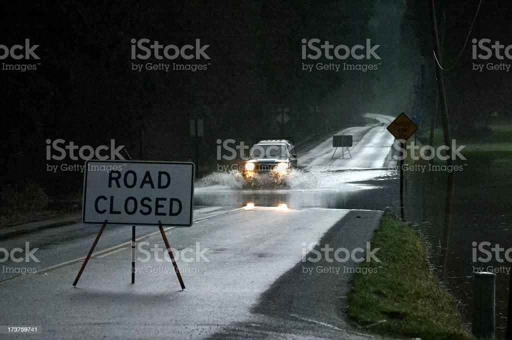 Dangerous Drive stock photo