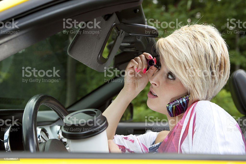 Dangerous Driving stock photo