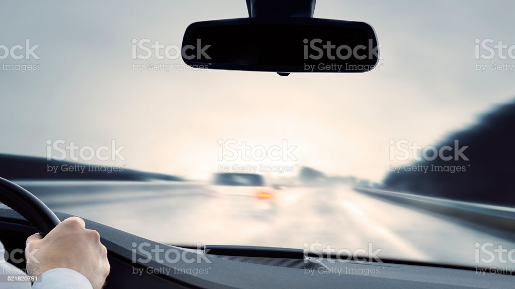 Dangerous Driving stock photo