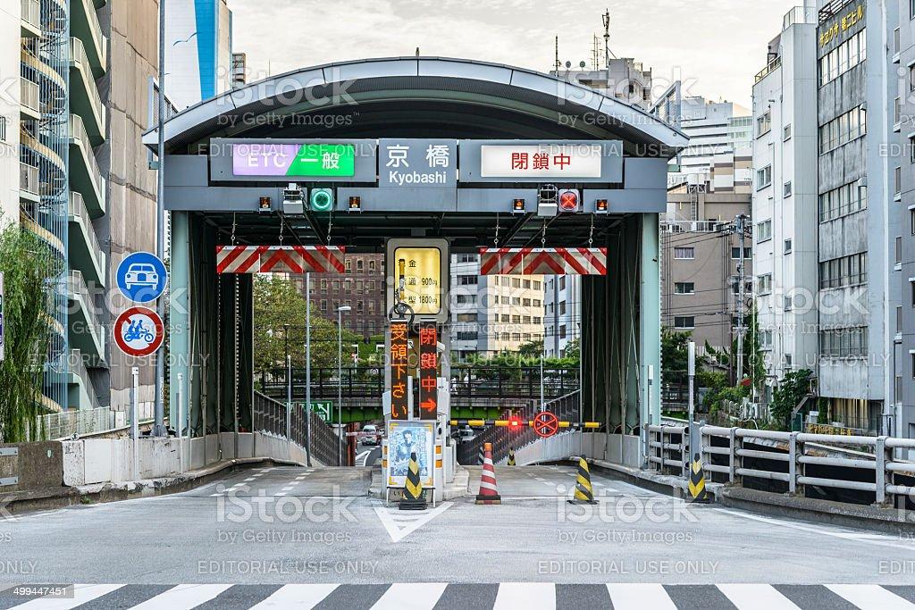 Dangerous entrance royalty-free stock photo