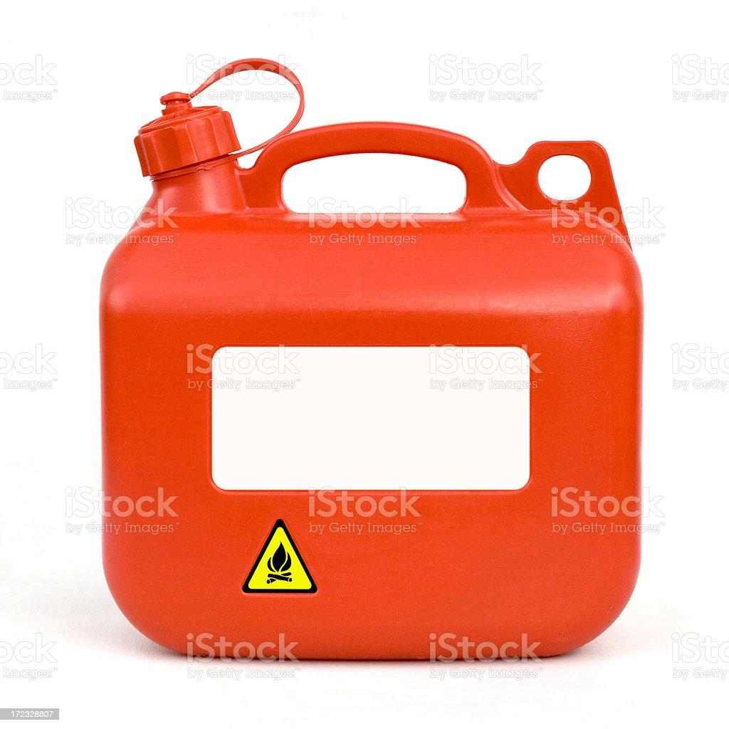 Dangerous Flammable Liquid royalty-free stock photo