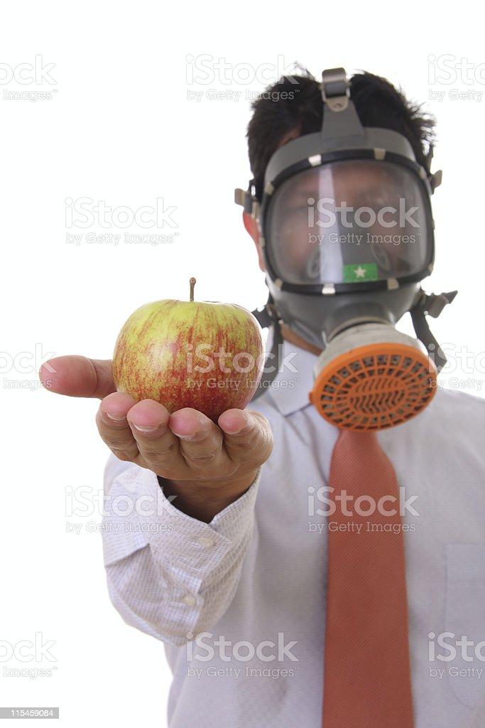 Dangerous Food royalty-free stock photo