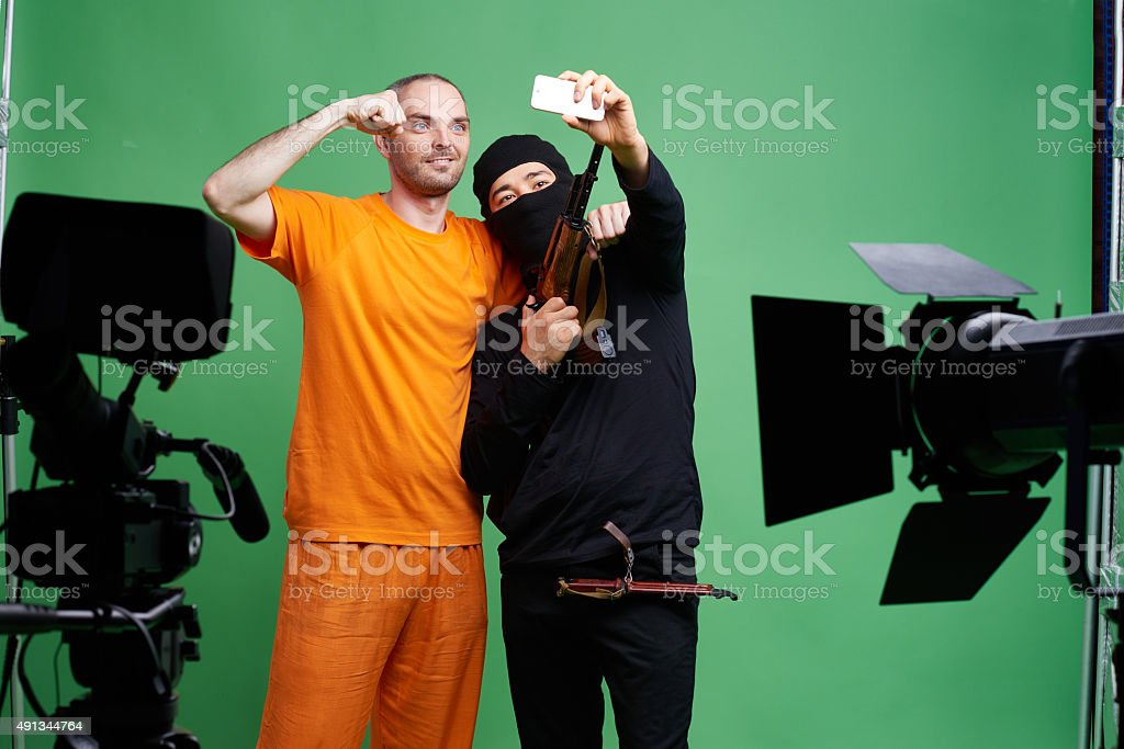 Dangerous friendship stock photo