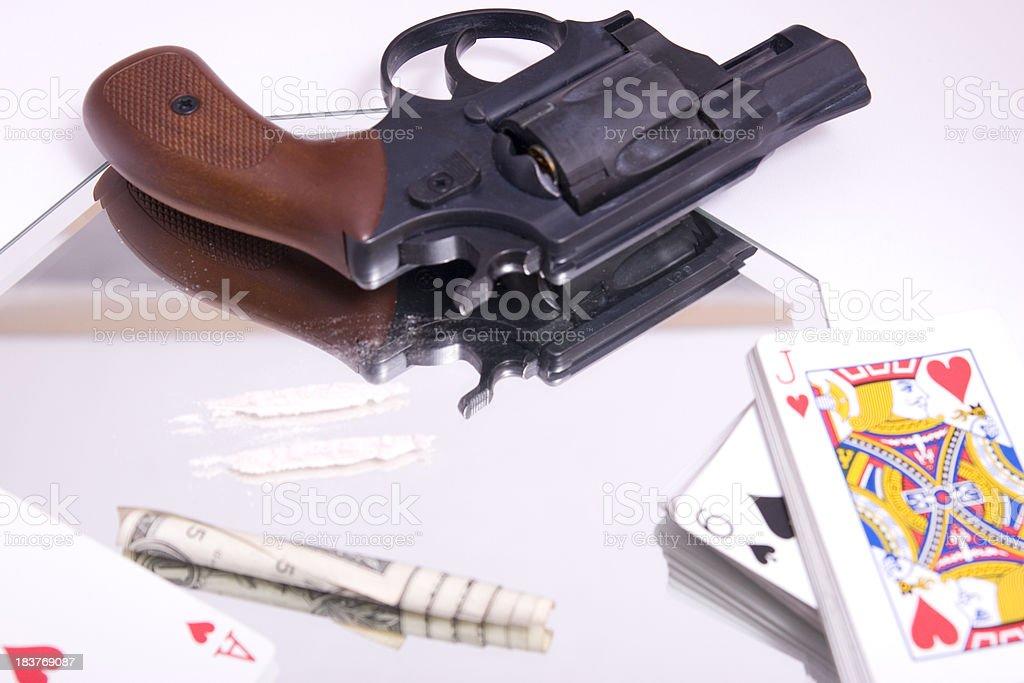 Dangerous Game stock photo