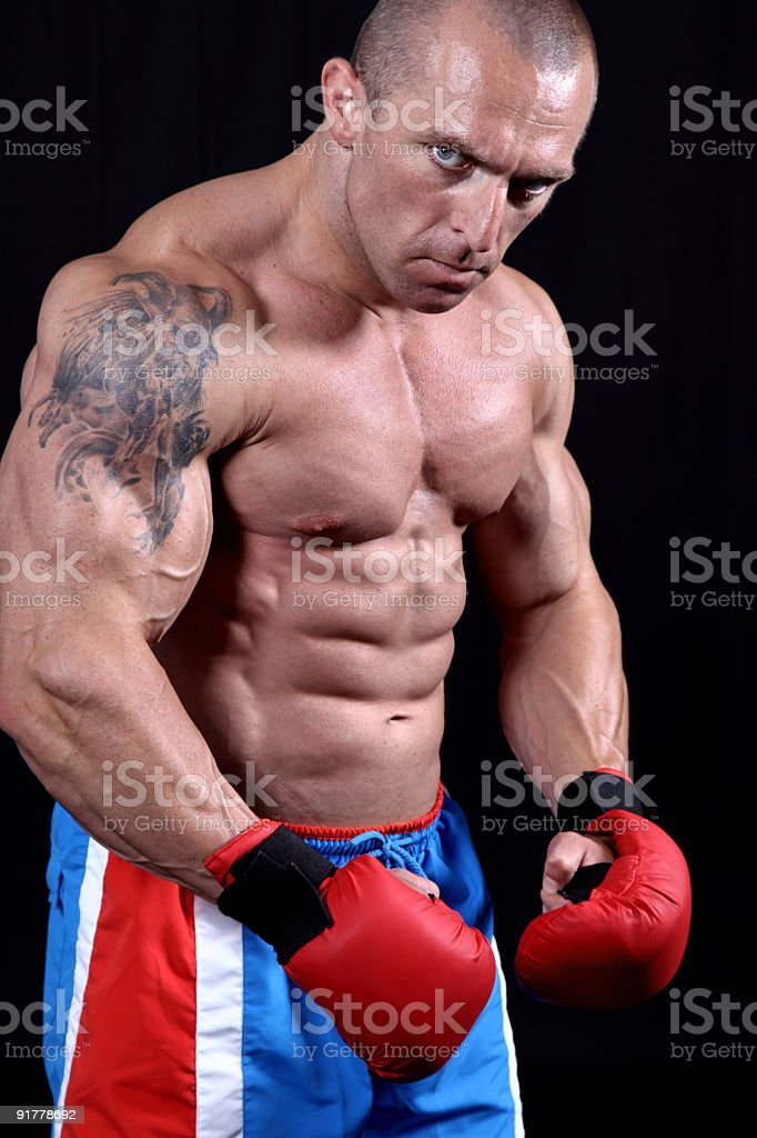 Dangerous guy royalty-free stock photo