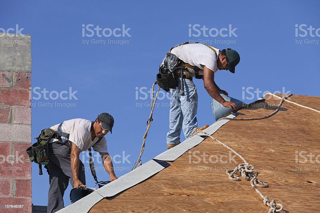 Dangerous Jobs stock photo