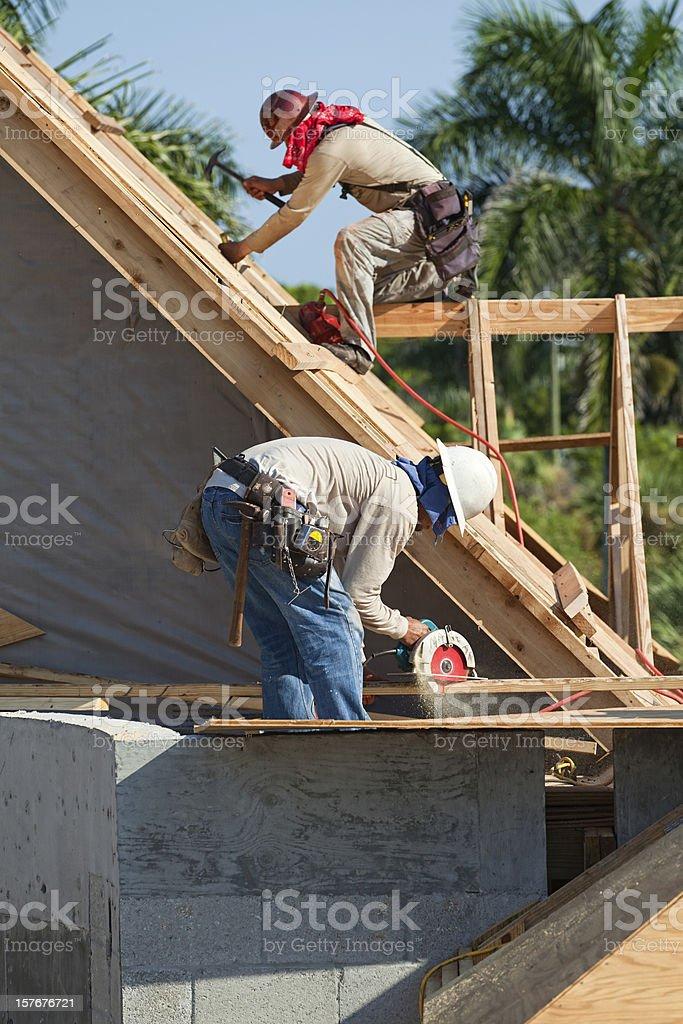 Dangerous Jobs royalty-free stock photo
