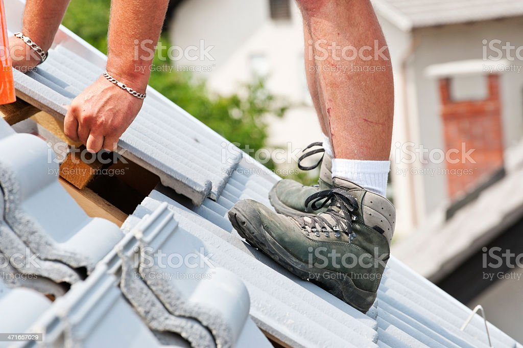 Dangerous Jobs royalty-free stock photo