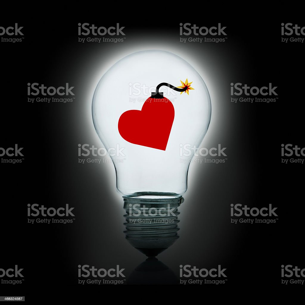 Dangerous love royalty-free stock photo