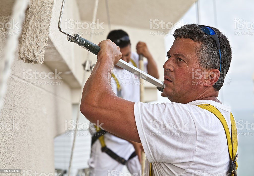 Dangerous Painting royalty-free stock photo