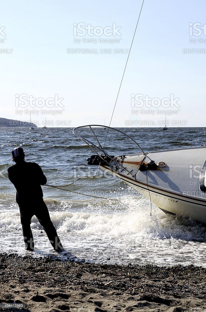 Dangerous Shore royalty-free stock photo