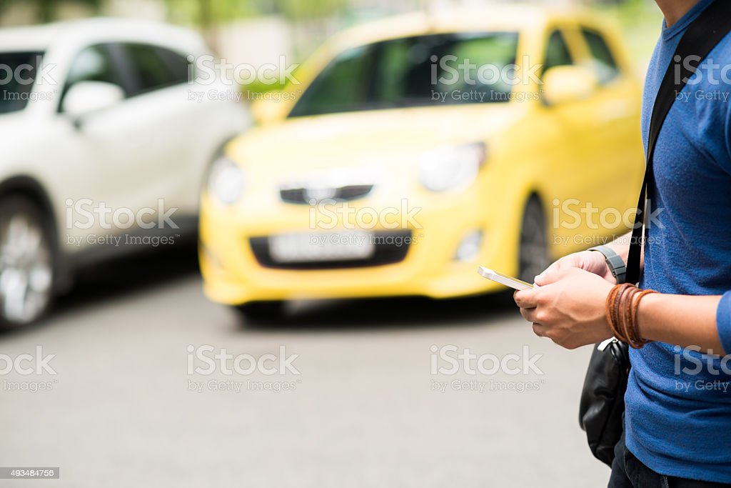 Dangerous walking stock photo
