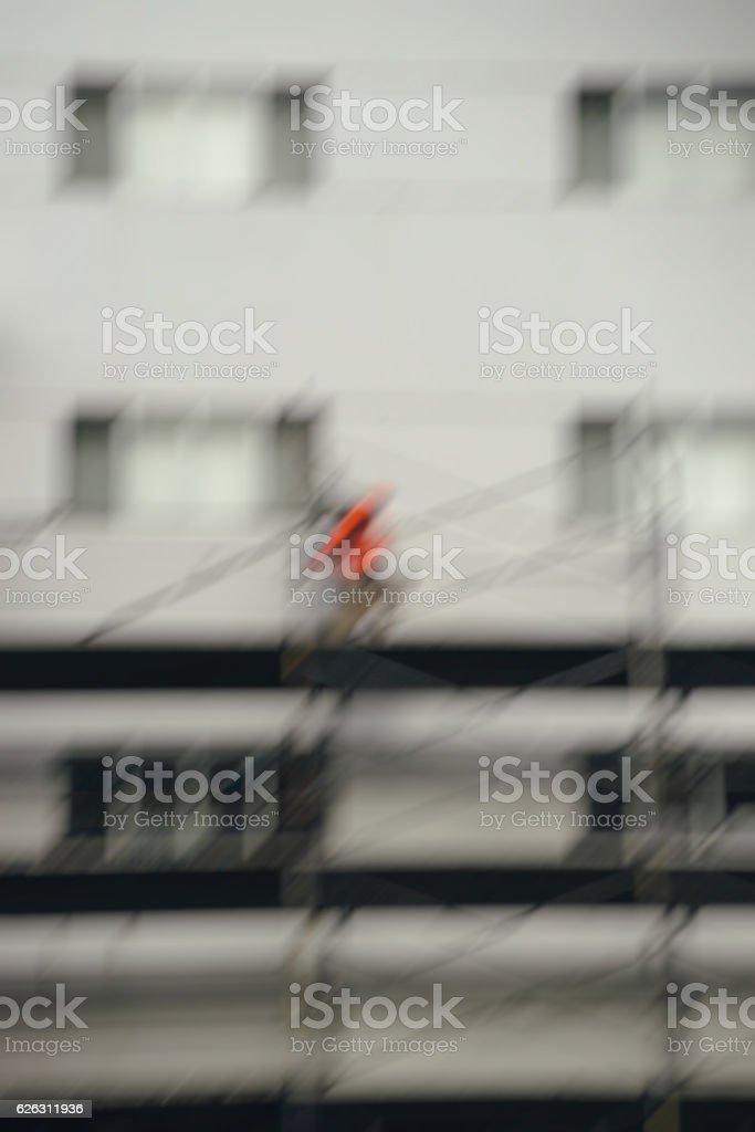 Dangerous work stock photo