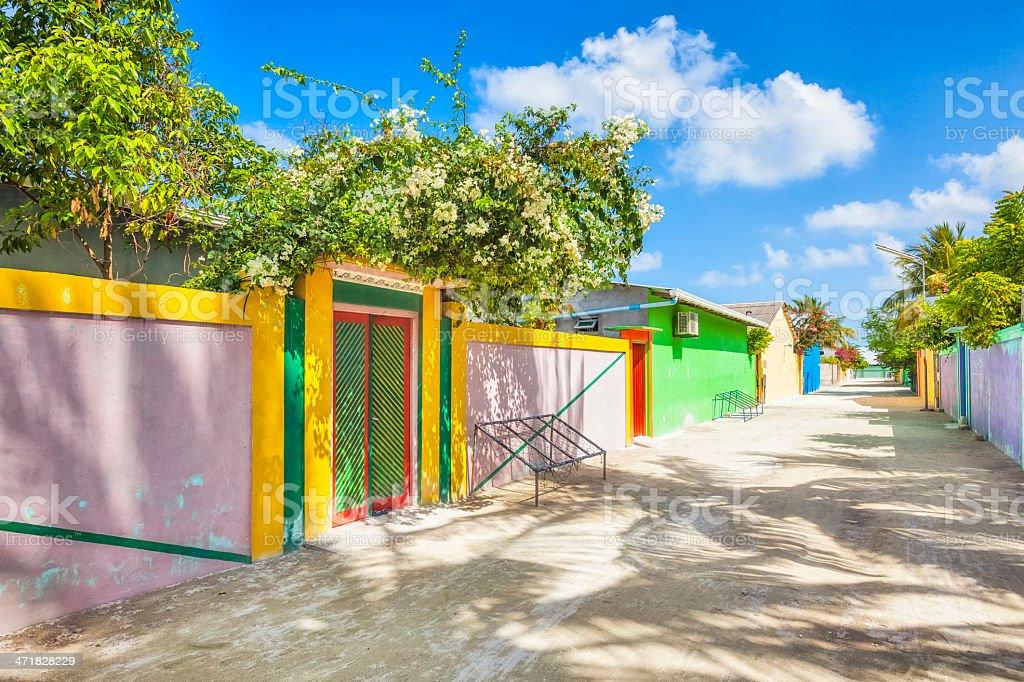 Dangheti on Maldives royalty-free stock photo