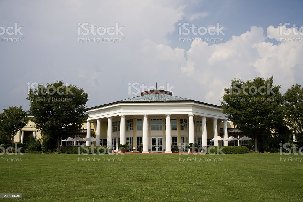 Daniel Stowe Visitor Pavilion stock photo