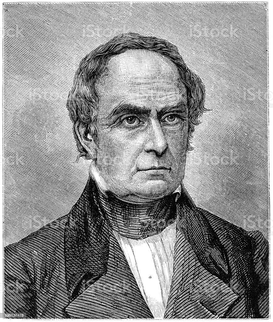 Daniel Webster stock photo