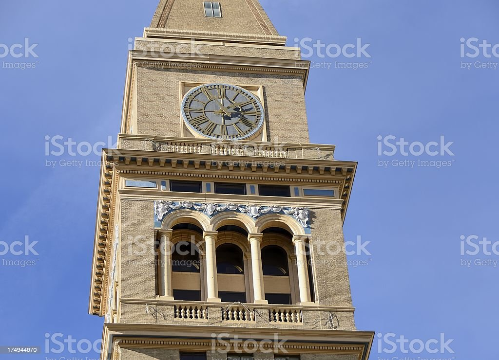 Daniels and Fisher Clock Tower, Denver stock photo