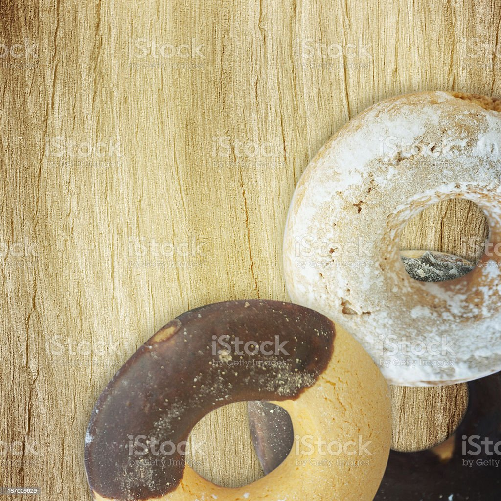 Danish butter cookies royalty-free stock photo