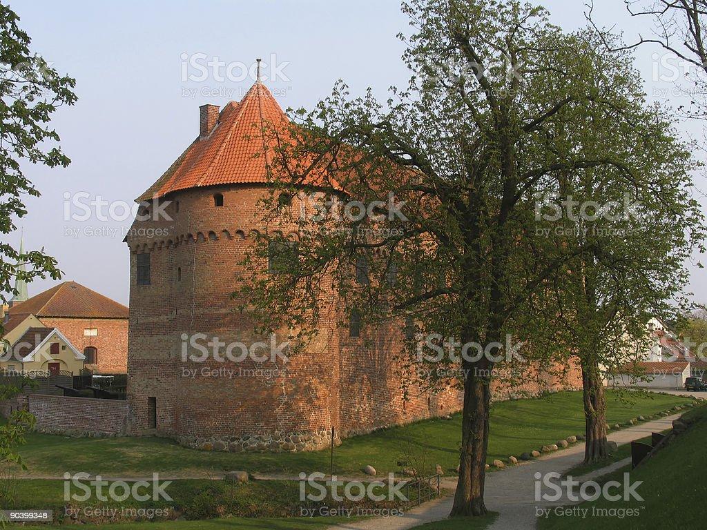 Danish castle royalty-free stock photo