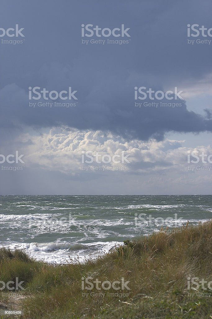 danish coast royalty-free stock photo