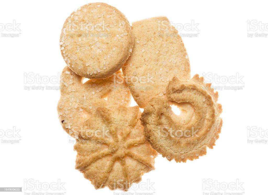 Danish Cookies stock photo