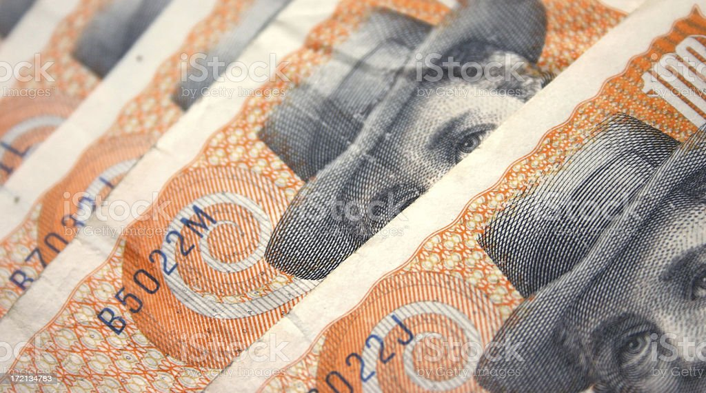 Danish Money royalty-free stock photo