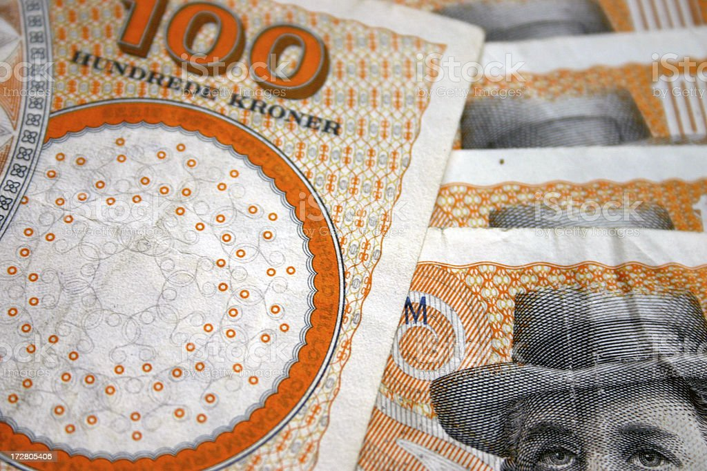 Danish Money royalty-free stock photo