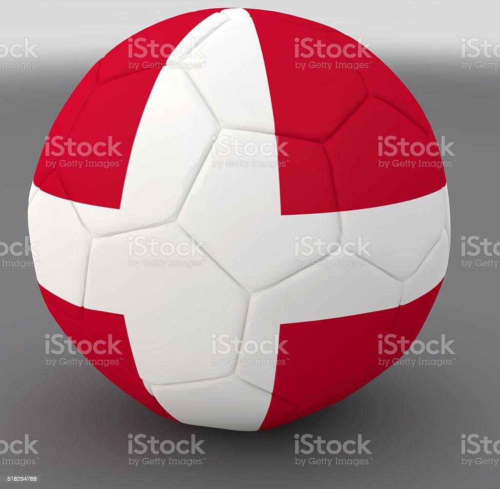 Danish national ball stock photo