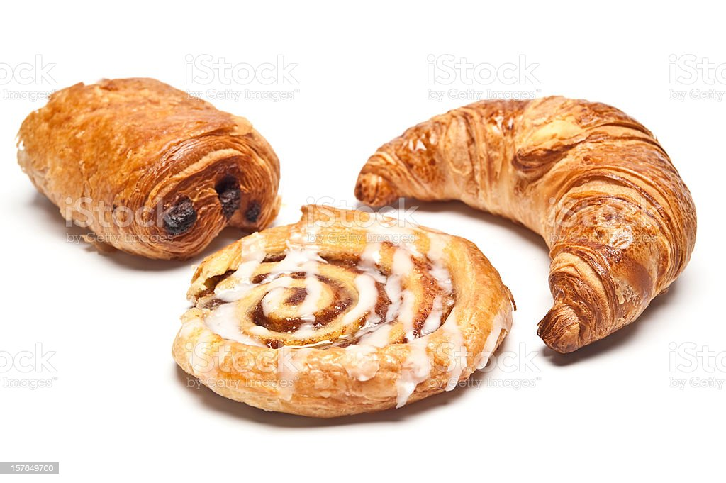 Danish Pasteries stock photo