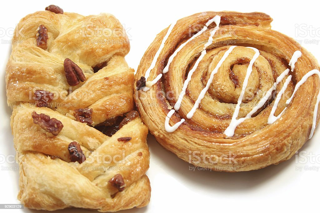 Danish Pastry close up royalty-free stock photo